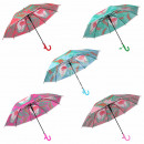 Children's umbrella assorted flamingos animals