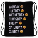 wholesale Gifts & Stationery: Rucksacktasche weekday Emoji Cons