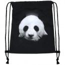 Mochila Bolso Negro Panda Turn