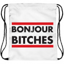 wholesale Gifts & Stationery: Backpack Turnbeutel Bon Jour