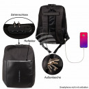 Gymbag Gymsac black USB 2.0 port