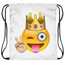 Backpack Turnbeutel emoticon King