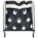 Backpack  Turnbeutel Weed and Stripes