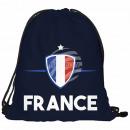 Gymbag, Gymsac Design: Frankreich Farbe: blau