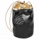 Backpack Backpack black gold shiny