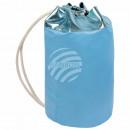 Backpack Backpack blue metallic shiny