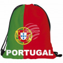 Gymbag, Gymsac Design: Portugal Farbe: rot, grün