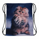 wholesale Bags: Gymbag Gymsac backpack multicolor cat ...