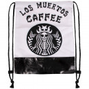 wholesale School Supplies: Gymsac Los Muertos Caffee black and white