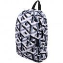 groothandel Rugzakken: Hoge kwaliteit  rugzak geometrisch patroon wit