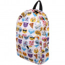 wholesale Bags & Travel accessories: High quality backpack white Emoticons