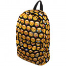 High quality backpack black Emoticons