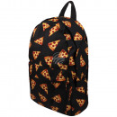 wholesale Backpacks: High quality backpack pizza slices black