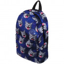 High quality backpack cat universe dark blue