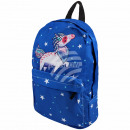 High quality backpack with side pockets unicorn bl