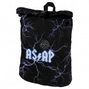 wholesale Backpacks: Backpack with roll closure flashes AS / AP