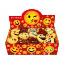 grossiste Porte-cles: Porte-clés Tri Emoji Con (48pcs)