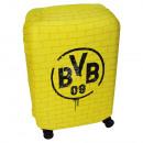 Großhandel Koffer & Trolleys: Koffer Überzug Borussia Dortmund schwarz, gelb