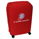 ingrosso Valigie &Trolleys: Copri Valigia FC Bavaria München blu, rosso, bianc