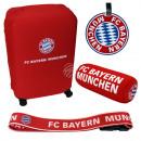Reisezubehör Set FC Bayern München blau, rot, weiß