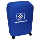 Großhandel Koffer & Trolleys: Koffer Überzug HSV blau, weiß, schwarz