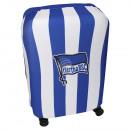 ingrosso Valigie &Trolleys: Copri Valigia Hertha BSC blu, bianco per la valigi