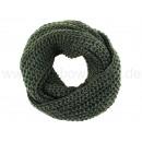 Großhandel Tücher & Schals: Damen Herren Schal dunkelgrün