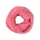 Damen Herren Schal pink