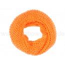 Damen Herren Schal neon orange
