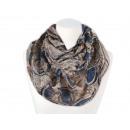 Großhandel Fashion & Accessoires: Damen Herren Schal floral creme