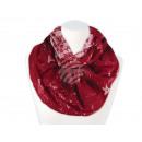 Großhandel Tücher & Schals: Damen Herren Schal Sterne rot