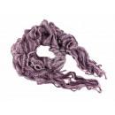 Damen Herren Schal lila