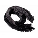 Ladies Scarf Style: knit Color: black