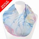 Damen Schal Loopschal Loop pastell multicolor