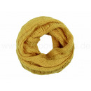 Damen Herren Schal gelb