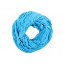 Damen Herren Schal unifarben blau