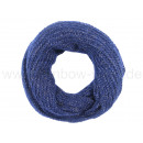 Damen Herren Schal blau