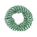 Damen Herren Schal Streifen hellgrün