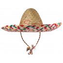 Sombrero van het stro met toepassingen Ø 50 cm