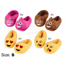 wholesale Fashion & Apparel: Sorting with 12 pcs. Kids Emoticon, slippers