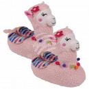 Hausschuhe Pantoffeln Lama Alpaka 40 - 42 rosa