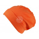 Cappello a maglia Long Beanie, Slouch arancione