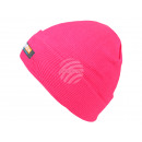 Beanie Long Beanie, Slouch neon pink