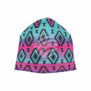 Knitted Hat Long Beanie Slouch Beanie multicolor