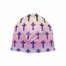 Strickmütze Long Beanie Slouch Mütze multicolor