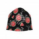Strickmütze Long Beanie Slouch Mütze schwarz