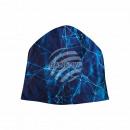 Strickmütze Long Beanie Slouch Mütze blau