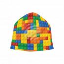 Großhandel Kopfbedeckung: Strickmütze Long Beanie Slouch Mütze multicolor