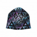 Knitted Hat Long Beanie Slouch Beanie black