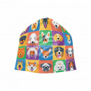 Knitted Hat Long Beanie Slouch Beanie Dogs